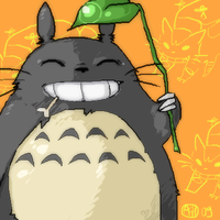 Totoro by Arlmuffin