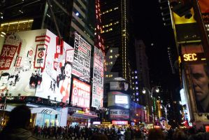 NYC _ Times Square by go4music