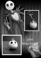 Jack Skellington's Key ring by LouPilou