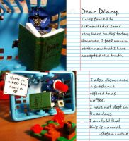 Dear Diary: Part 3 by italktotoys