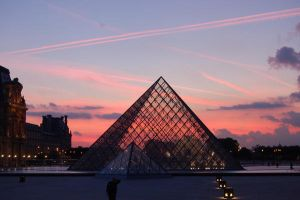 Lourve at Sunset by DenkMit