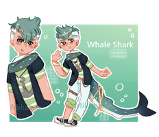 Whale shark adopt (Closed) !! by mikaryu