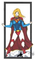 New 52 Supergirl by Elvatron
