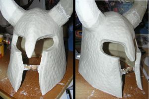 PEPAKRUA - Skyrim Yngol Helmet - (air dry clay) by distressfasirt