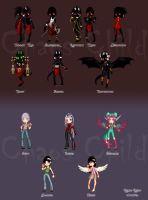 World is on Fire - Pixel dolls by Chaos--Child