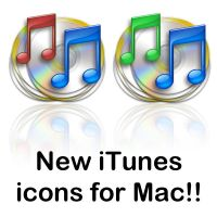 New iTunes icons for Mac by ExtendedCreativity