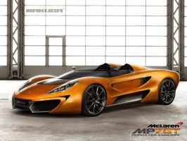 Mclaren MP7GT Roadster by Jakusa1