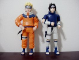 Naruto ACTION Figures by KittyChanBB