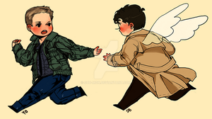 spn: let's run away together by Suu-mon