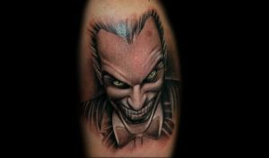 Joker by redliontattoo