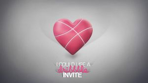 Dribbble Invite by FYPO