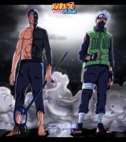 The Two Mangekyou, Obito and Kakashi by EspadaZero