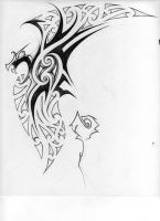 Maori-Tribal Tattoo Design by kiwi-anim8a