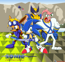 Sonic X the Swordsman by GuardianMobius