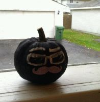 Wilfred Pumpkinstache by MCorbran23