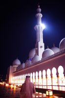Sheikh Zayed mosque Abu Dhabi 2 by amirajuli