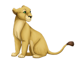 Hewa as cub by Chotara