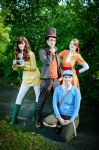 Professor Layton : Detectives by y-o-s-s-i
