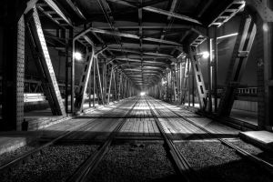 Bridge BW by Kaganek