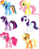 Pixel: My Little Pony FIM by Anie