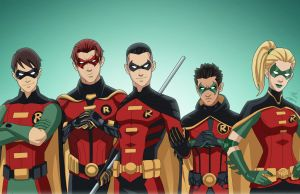 Robins (Earth-27) by phil-cho