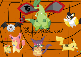 Happy Halloween by pokemonbreeder1