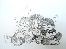 When The Shield Sleep Together by Tapla