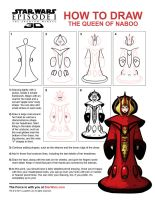DRAW THE QUEEN OF NABOO by grantgoboom
