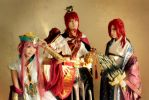 Magi: Kou Empire Red brothers by Junez-chan