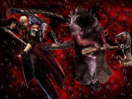 The Executioner Vs Dante by EpitaphOfTwilightCe