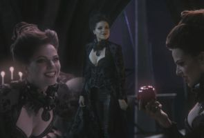 Once upon a time - Evil Queen Regina wallie by Hellraiser-89