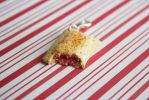 polymer clay strawberry pop tart by l337Jacqui