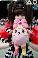 FASHION MONSTER and Pamyu close up and cute! by KateySmile