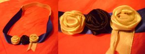 Handmade Floral Headband by delicioustrifle