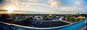 Rooftop Panorama of Caulfield, Melbourne by SuperSprayer