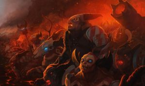 Heroes of Newerth - The Hellbourne by radioblur