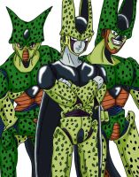 Anime Classics DBZ Cell by Wyvern07