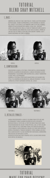 Tutorial Blend Shay Mitchell by shad-designs
