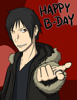 Izaya for Lacey by Keikuina