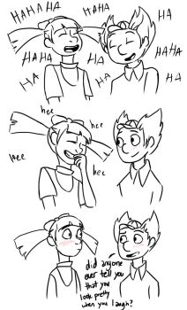 Helga's Laugh by RianneGe