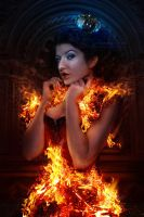 On Fire by kuschelirmel