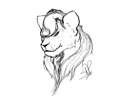 Greenlioness commisson by forgetSanity