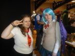 Me with Kurono Kurumu cosplayer ^^ by OtakuRhi