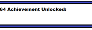 MB64 Achievement by MarioBlade64