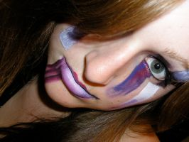 Abstract Make-Up by ReekaValentyne