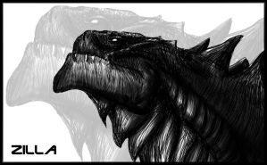 Zilla Doodle by Hobsyllwin18