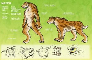 Kaden ref sheet by Blue-Uncia