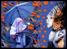 Lysergic dream of a mermaid by TheExquisiteCorpse