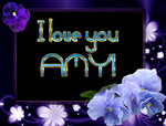 I love you Amy by AudraMBlackburnsArt
