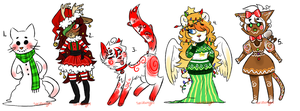 Christmas adopts auction OPENED by saria-adopts-64